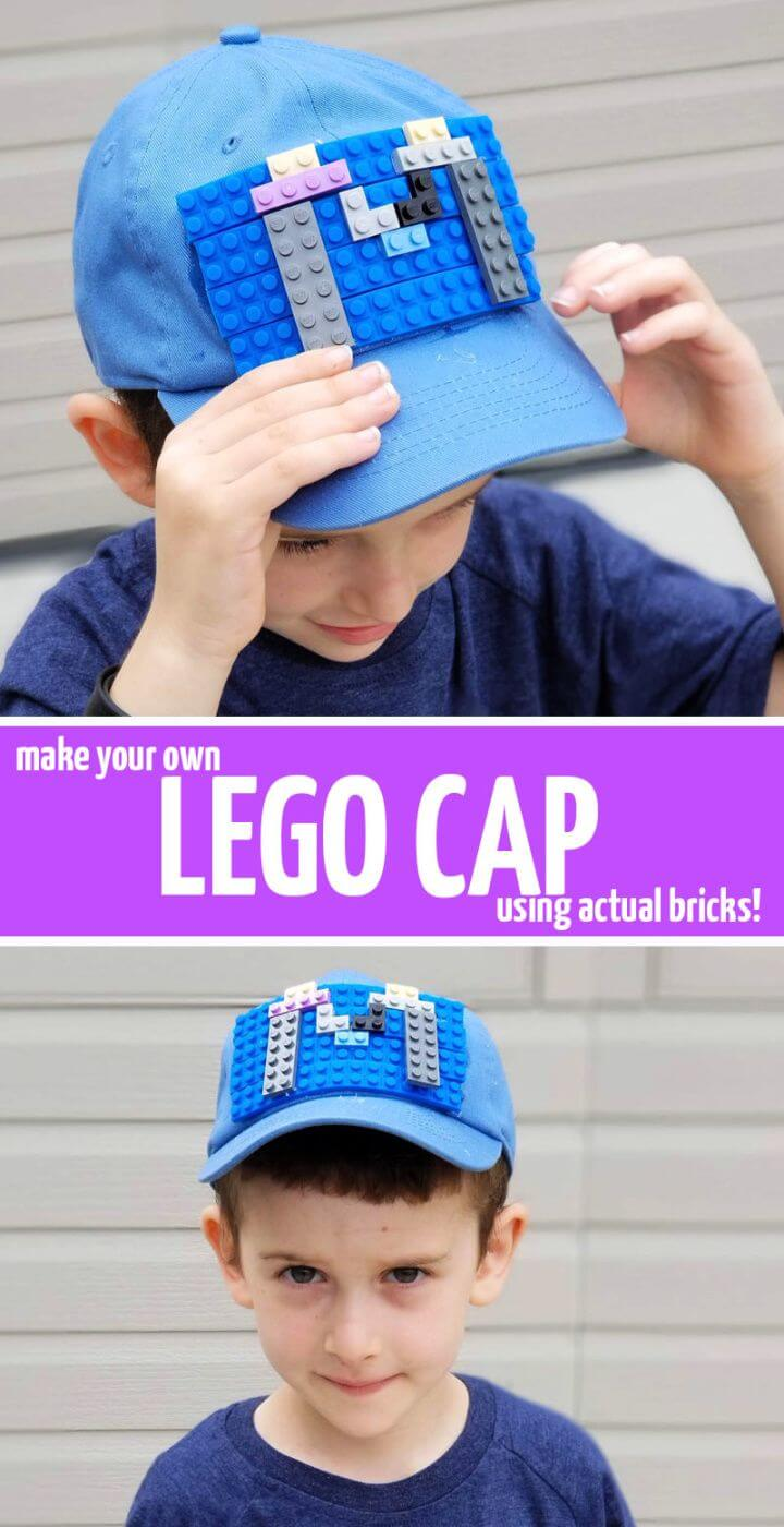 Create a Super Cool Cap Using Real Bricks