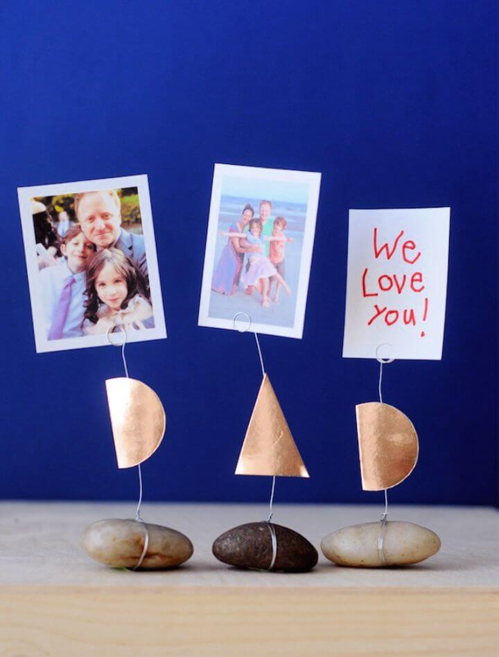 Creative DIY Fathers Day Photo Holders