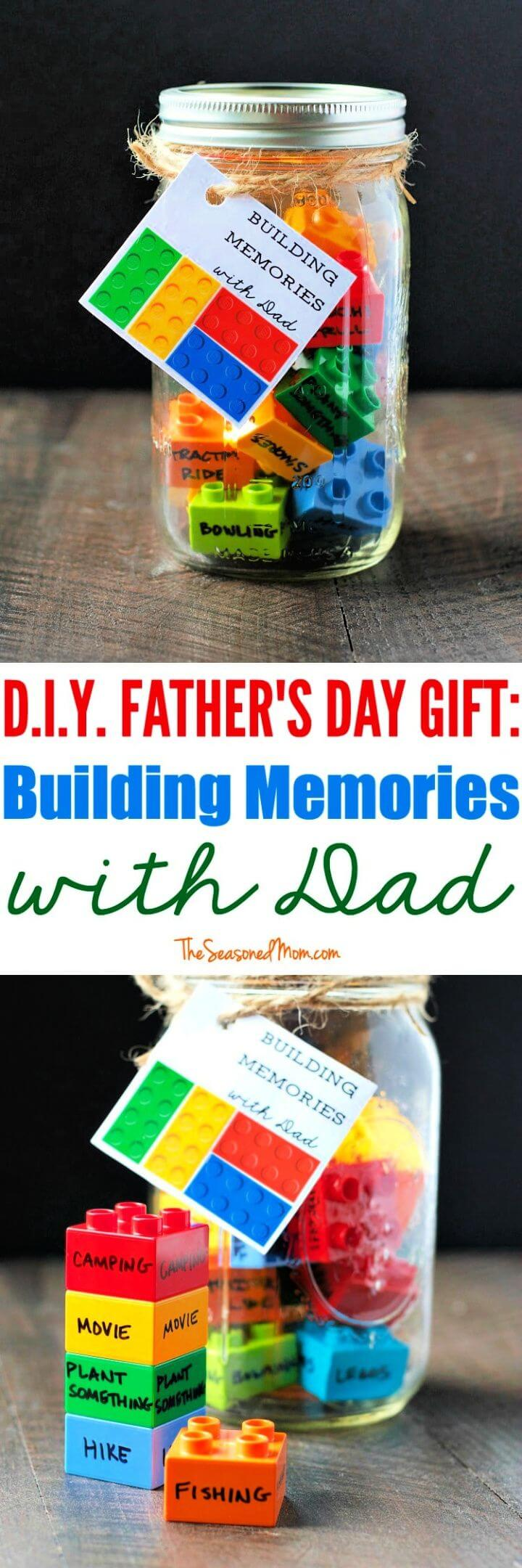 DIY Amazing Building Memories with Dad Legos For Fatherday