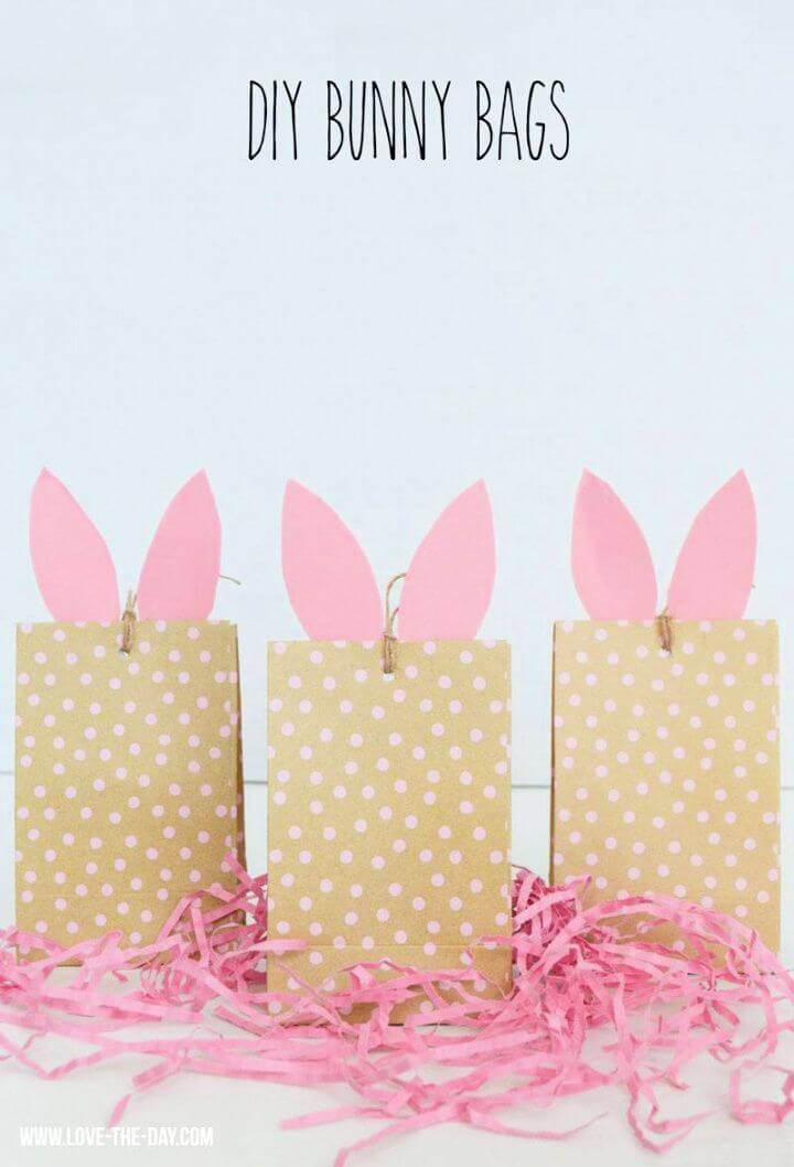 DIY Bunny Craft Bags