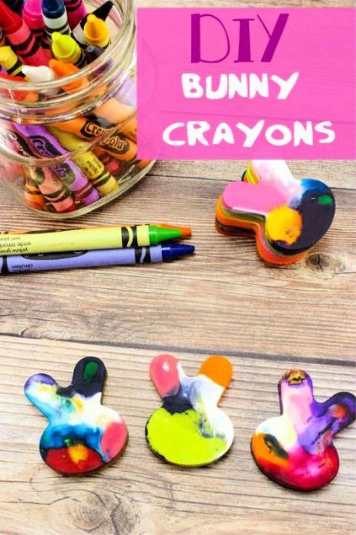 DIY Bunny Crayons