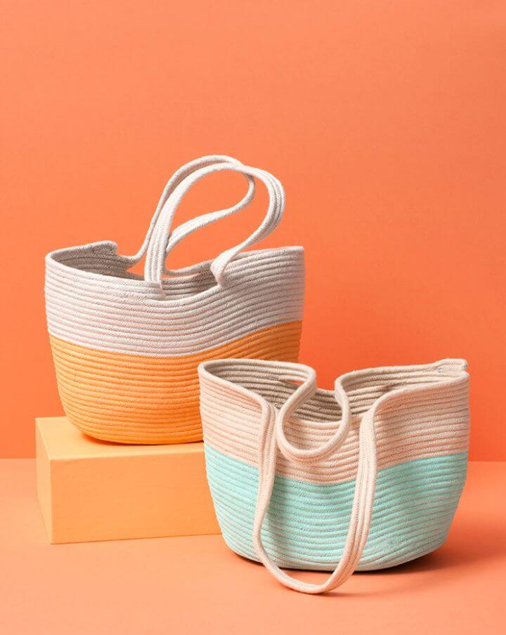 DIY Cute Make a Rope Tote with Gemma Patford
