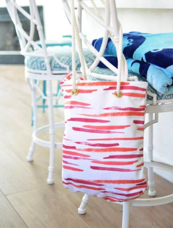 DIY Fabric Tote Bag Tutorial