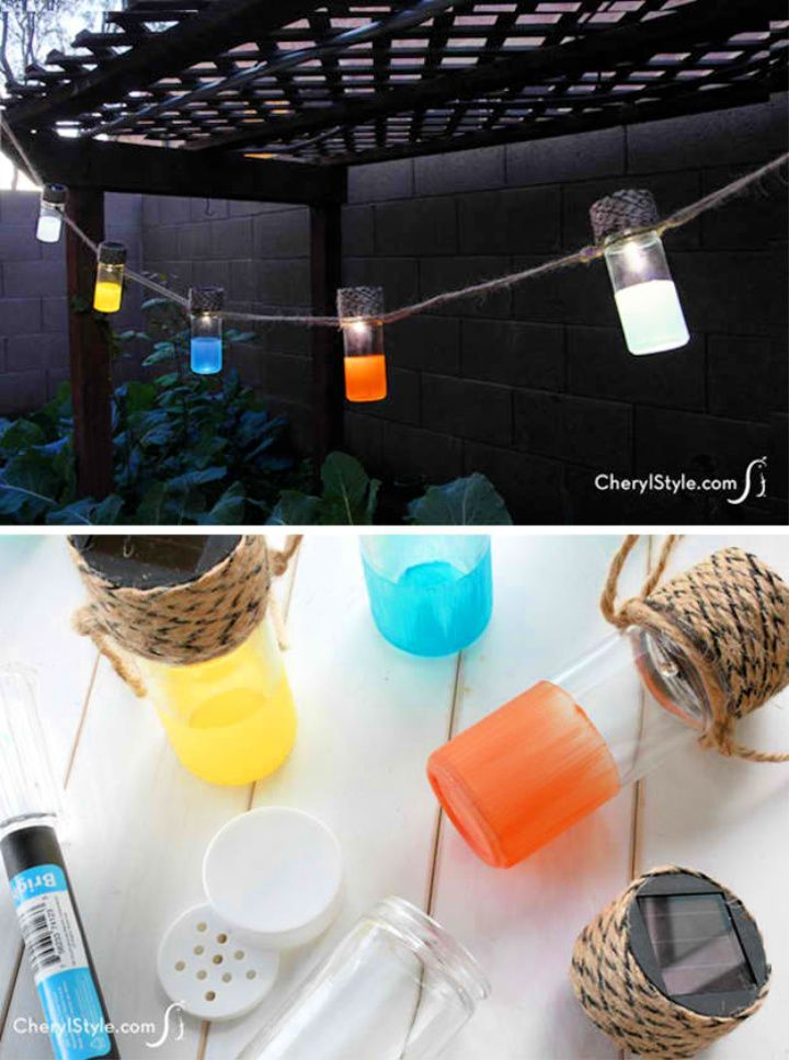 DIY Outdoor Lantern Ideas DIY Solar Lanterns