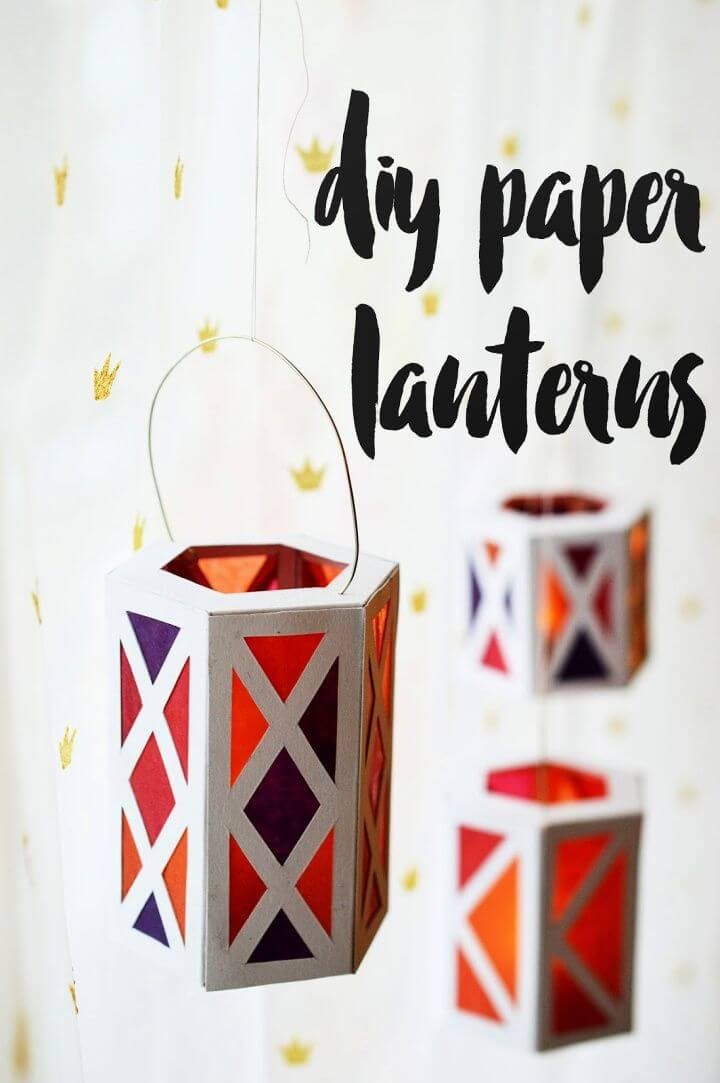 DIY Paper Lanterns Tutorial
