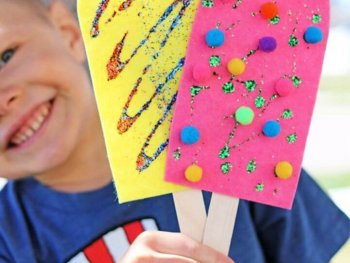 DIY Popsicle Craft for Pretend Play