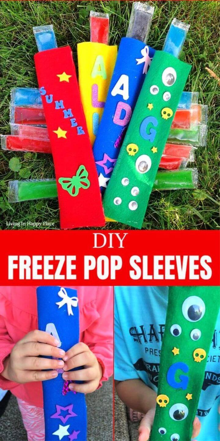 DIY Popsicle Holder Craft. Fun and functional activity for kids and Moms