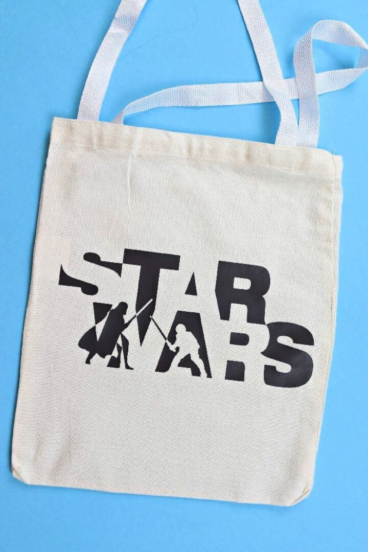 DIY TOTE BAGS star wars