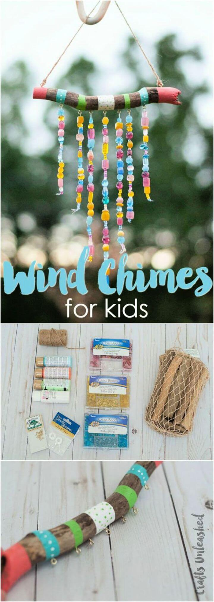 DIY Wind Chimes For Kids Step by Step