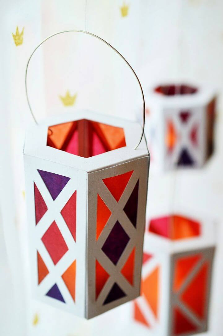 Holiday Celebrations DIY Paper Lanterns
