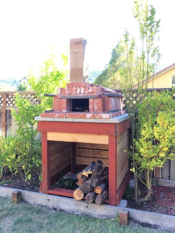 How To Create A Arched Brick Pizza Oven