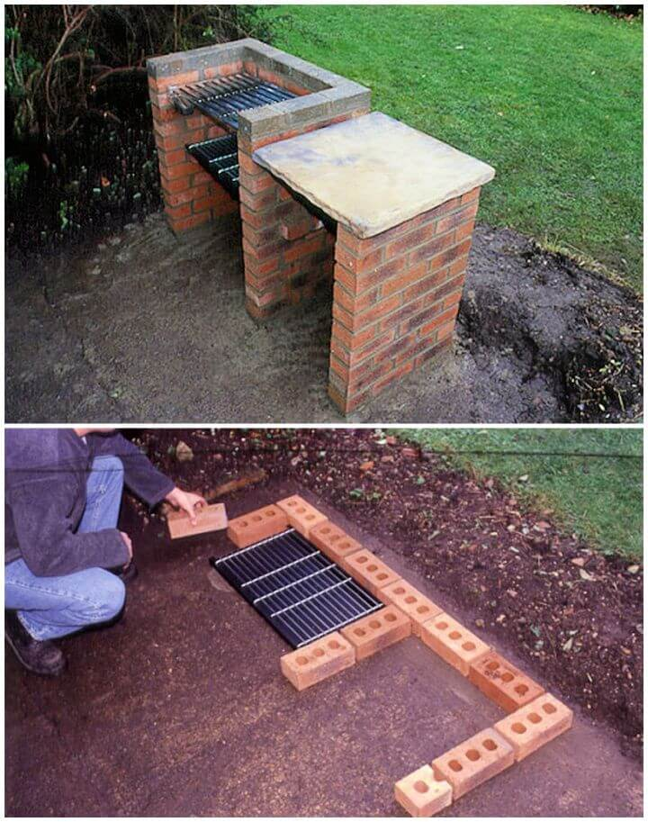 How To Create A DIY Brick Barbecue