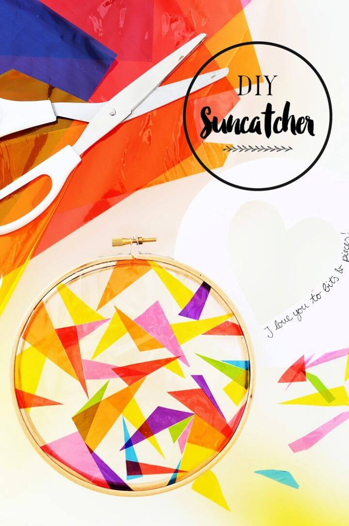 How To Create A DIY Sun Catcher