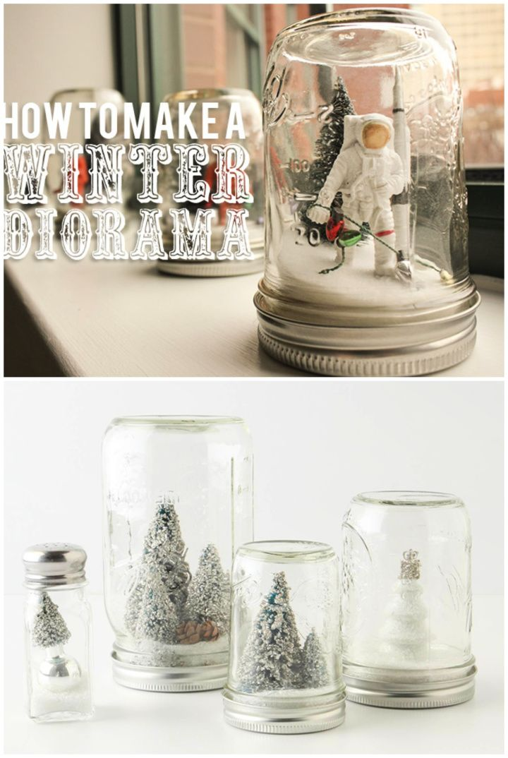 How To Create Your Own Snow Globe Tutorial