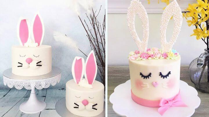 How To Make Easter Bunny Cake