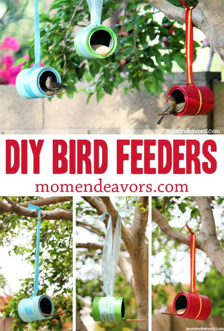 How To Make Tin Can Feeder