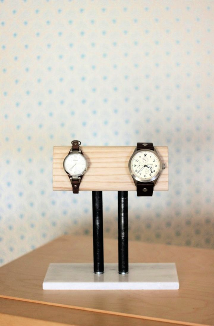 How To Make Watch Stand For Fatherday