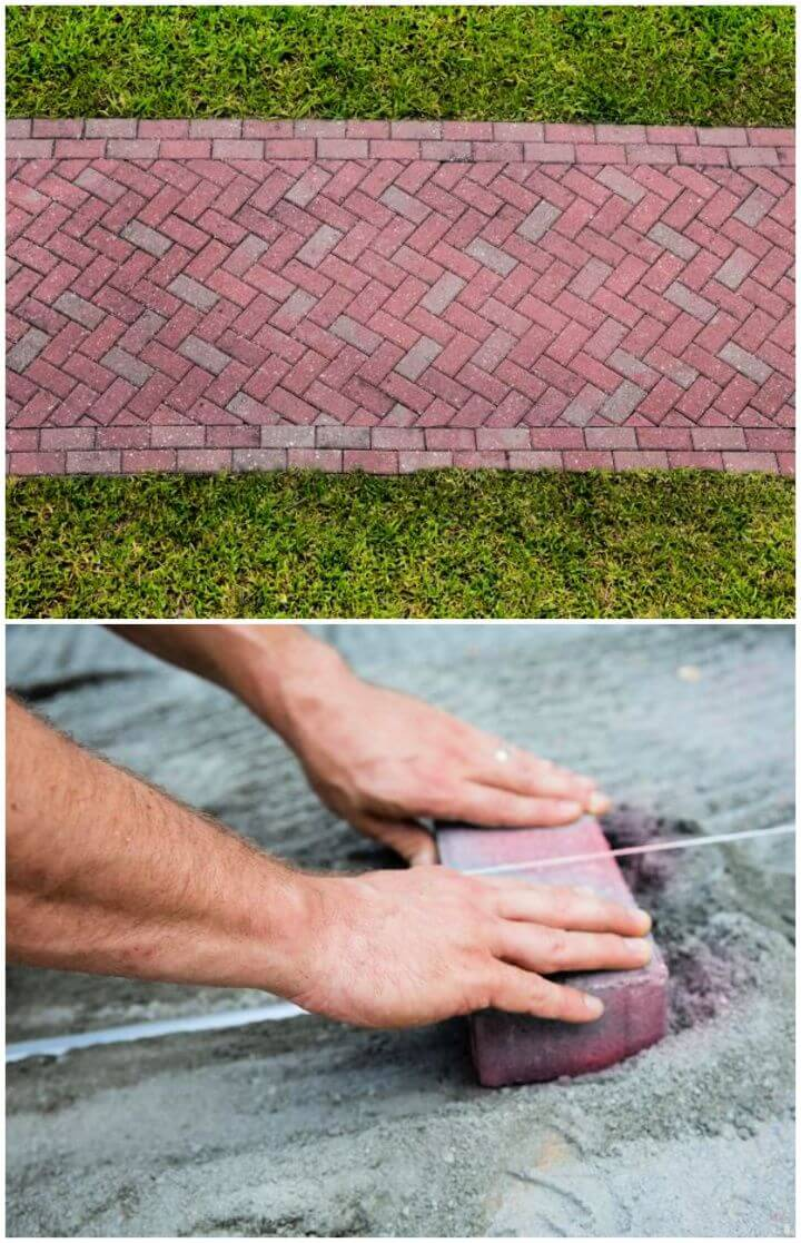 How to Lay a Brick Pathway Tutorial