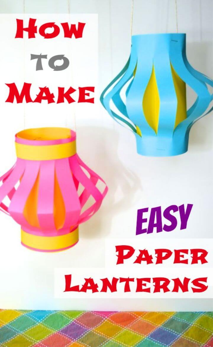 How to Make Easy Paper Lanterns