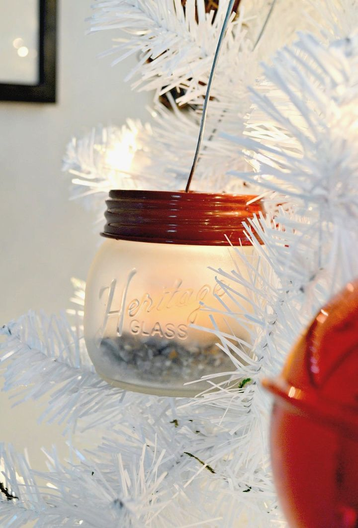 How to Make Mason Jar Lanterns and Celebrating