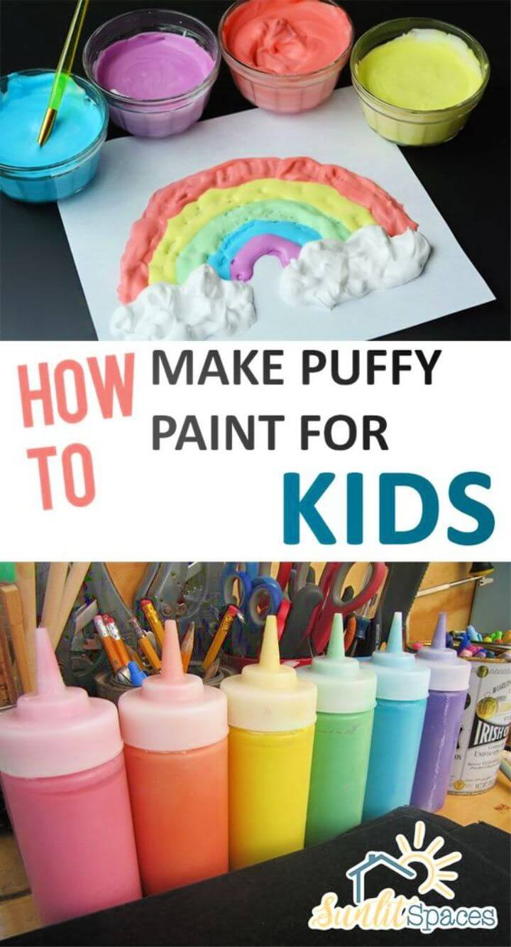 How to Make Puffy Paint for Kids