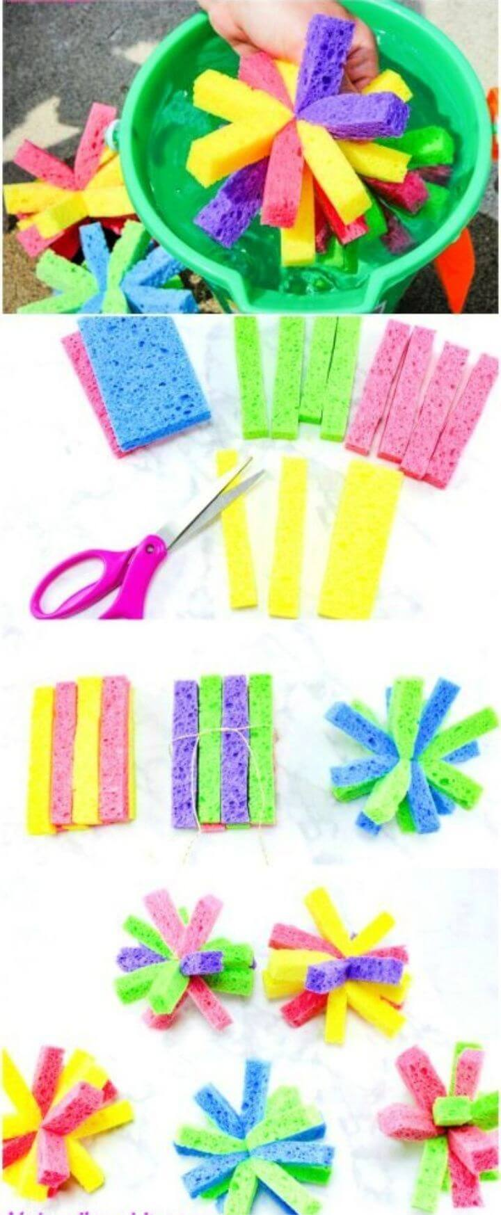 How to Make Super Soaker Sponge Balls Kids Will Love