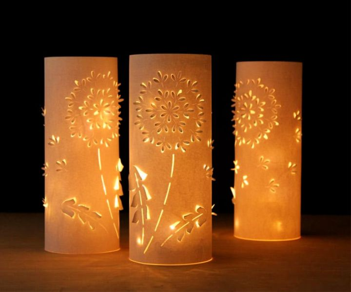 Make Paper Lanterns Inspired