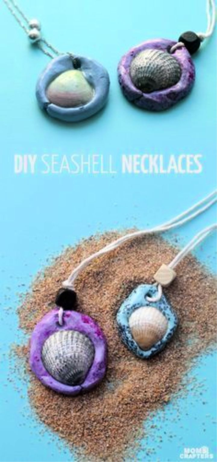 Make These Fun Seashell Necklaces