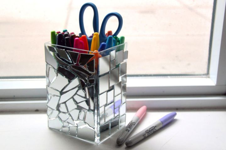 Mosaic Pencil Holder