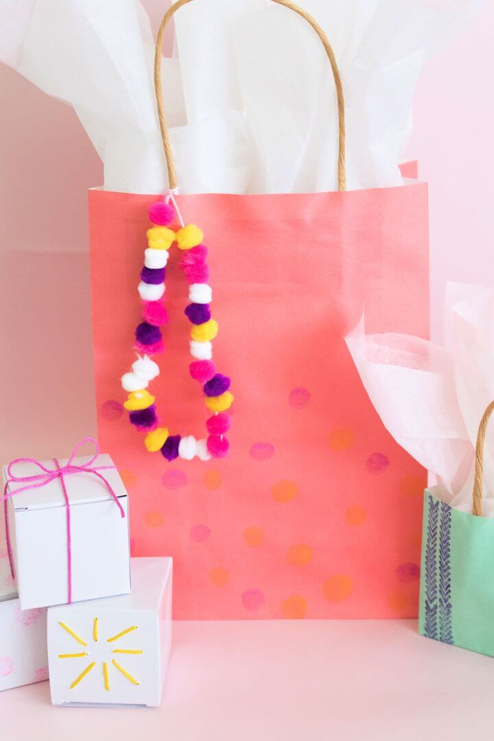 Mothers Day Gift Wrap Idea