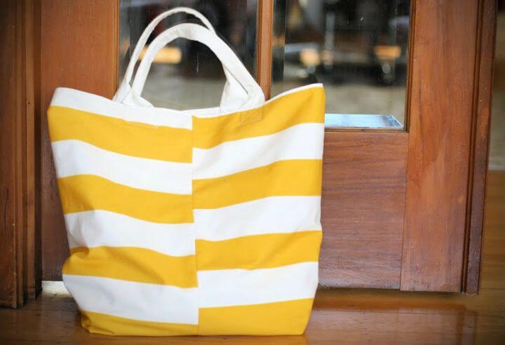 Perfect look DIY Beach Tote Bag 1