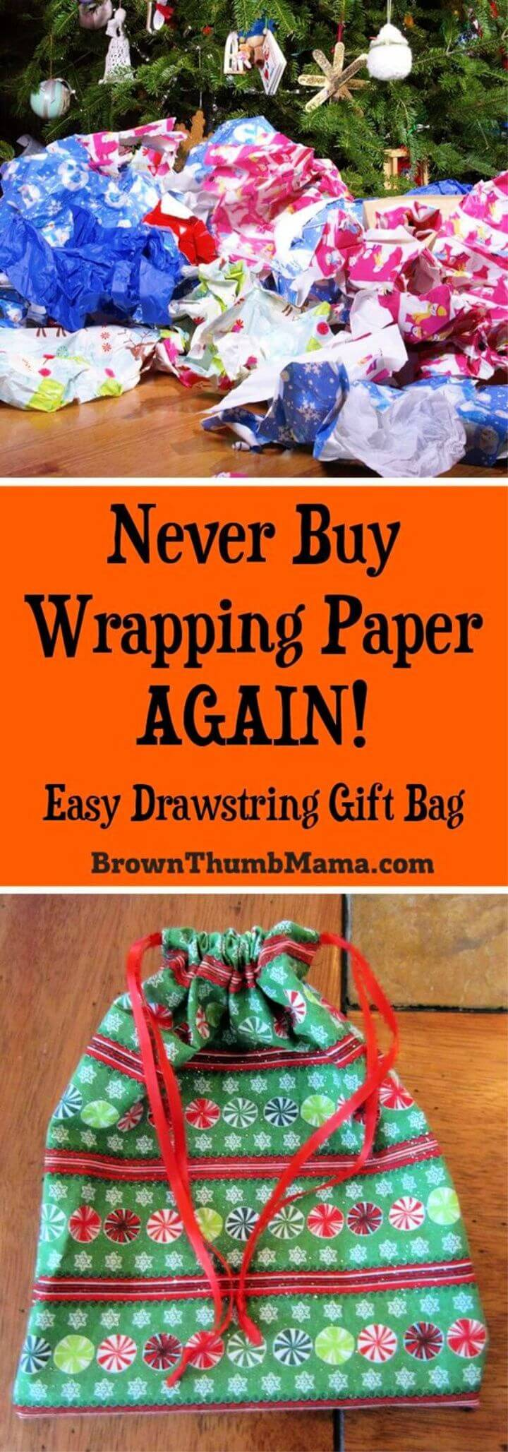 Sew an Easy Drawstring Gift Bag