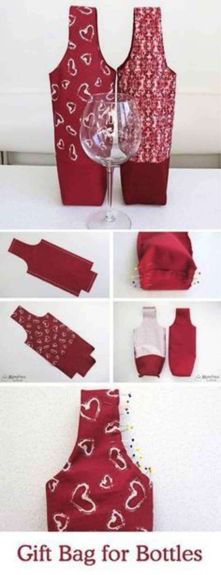 Tutorial on a Gift Bag for Bottles