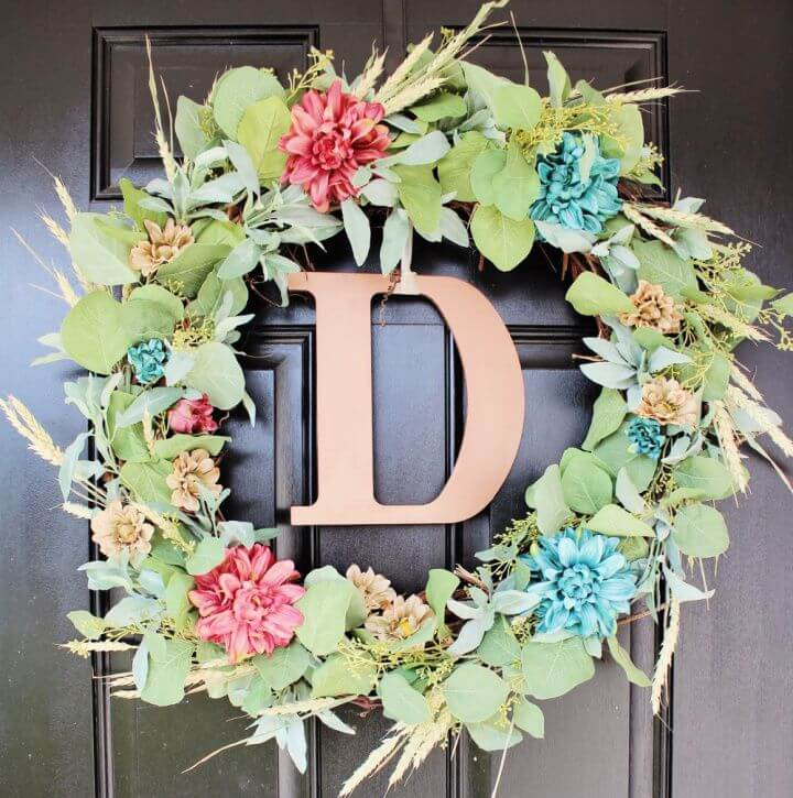 Beautiful DIY Front Door Wreath