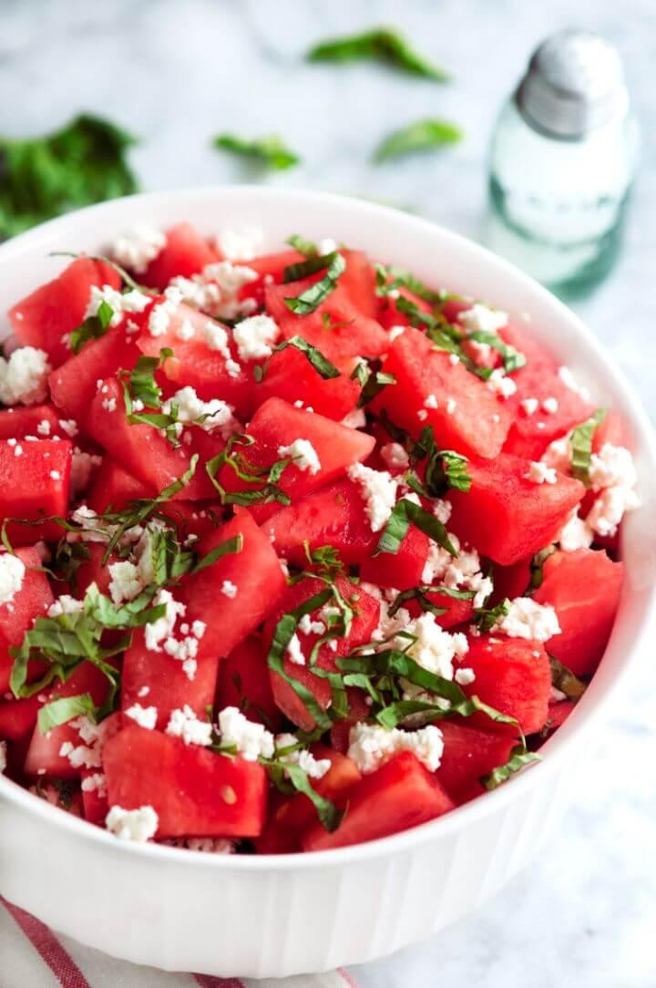 Best Basil Watermelon