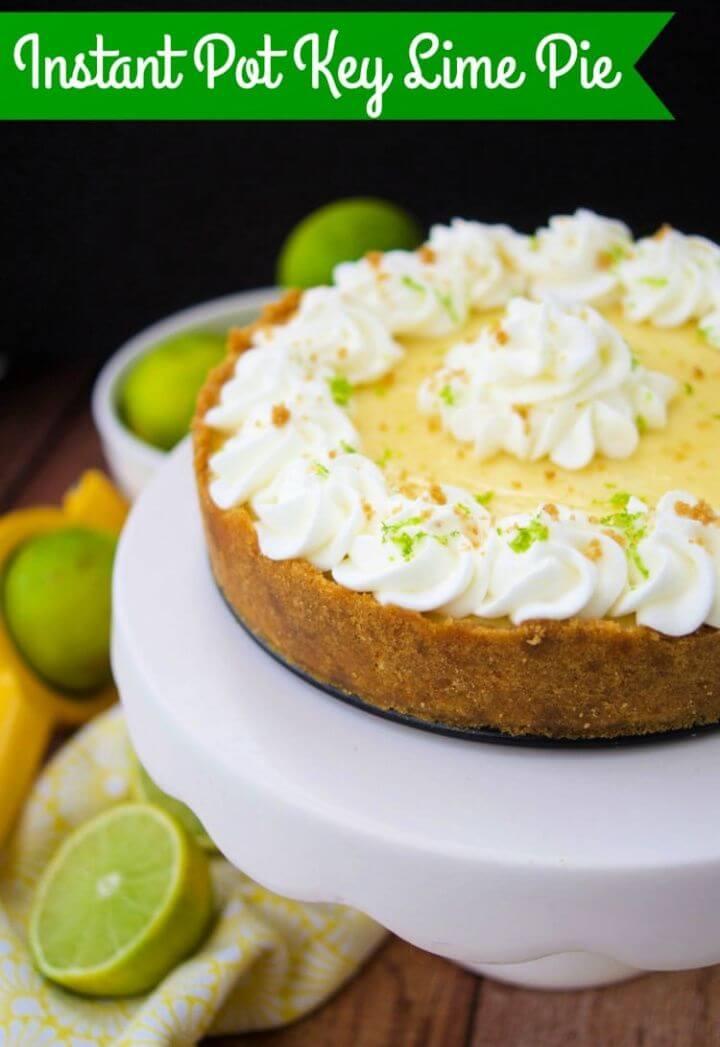 Best Ever Instant Pot Key Lime Pie