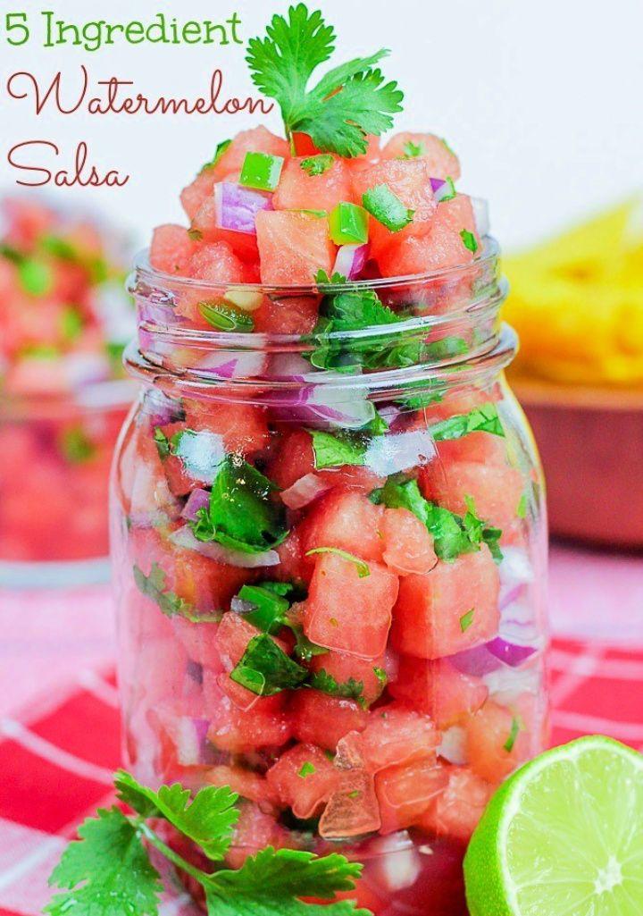 Best Watermelon Salsa