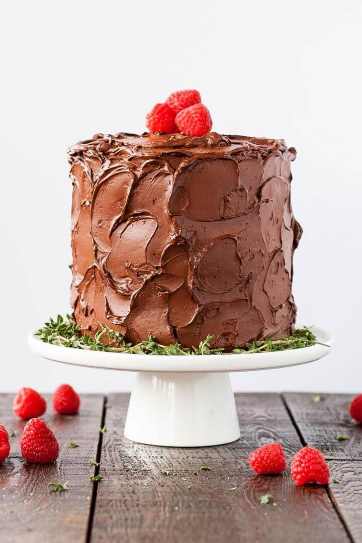 Build A DIY Chocolate Raspberry Layer Cake