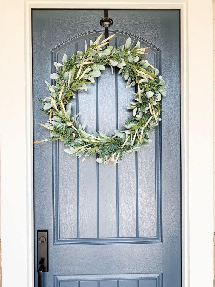 Classic DIY Front Door Wreath Tutorial