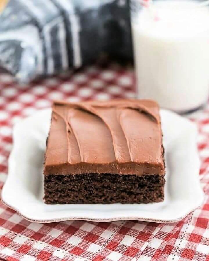 Cocoa Fudge Cake