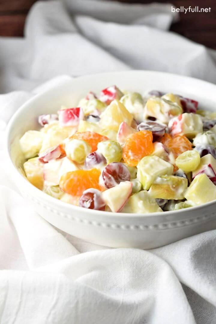 Creamy Delicatessen Fruit Salad
