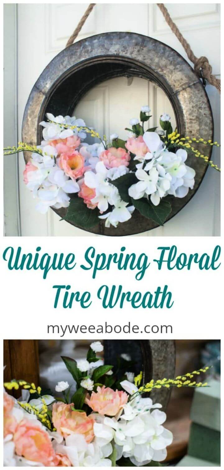Create A DIY Unique Spring Wreath