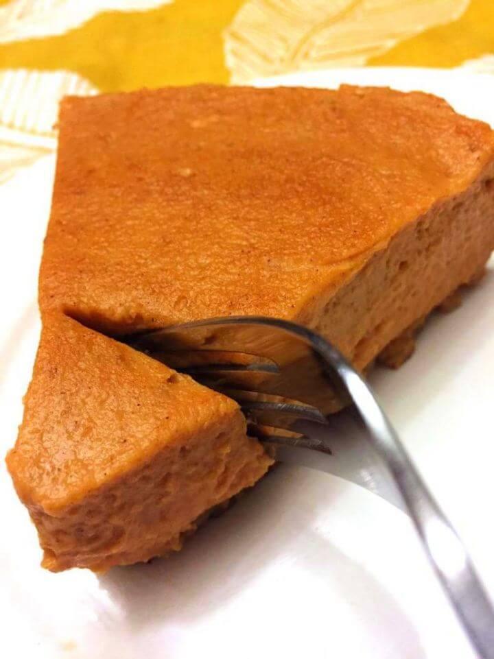 Create A Instant Pot Pumpkin Pie Recipe