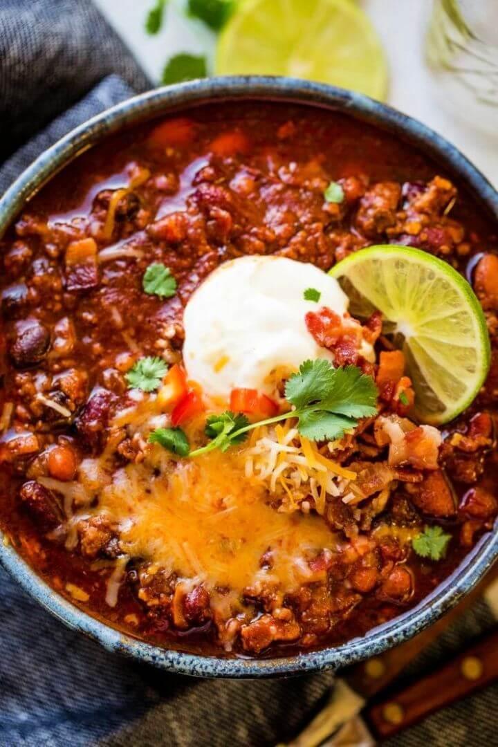 DIY Award Winning Instant Pot Chili Recipe