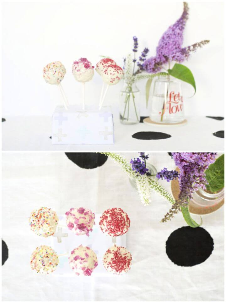 DIY Cake Pop Stand Recipe