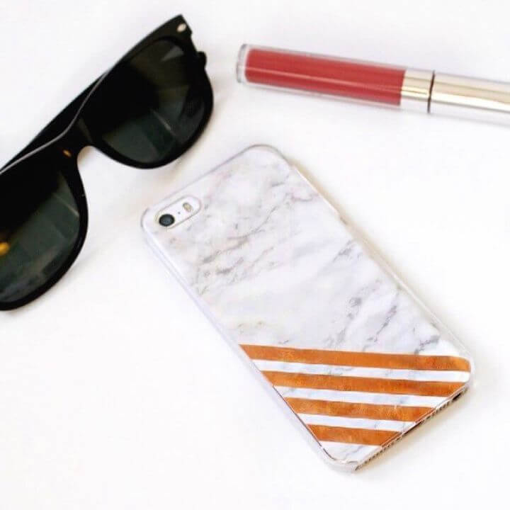 DIY Copper Marble Phone Case 1