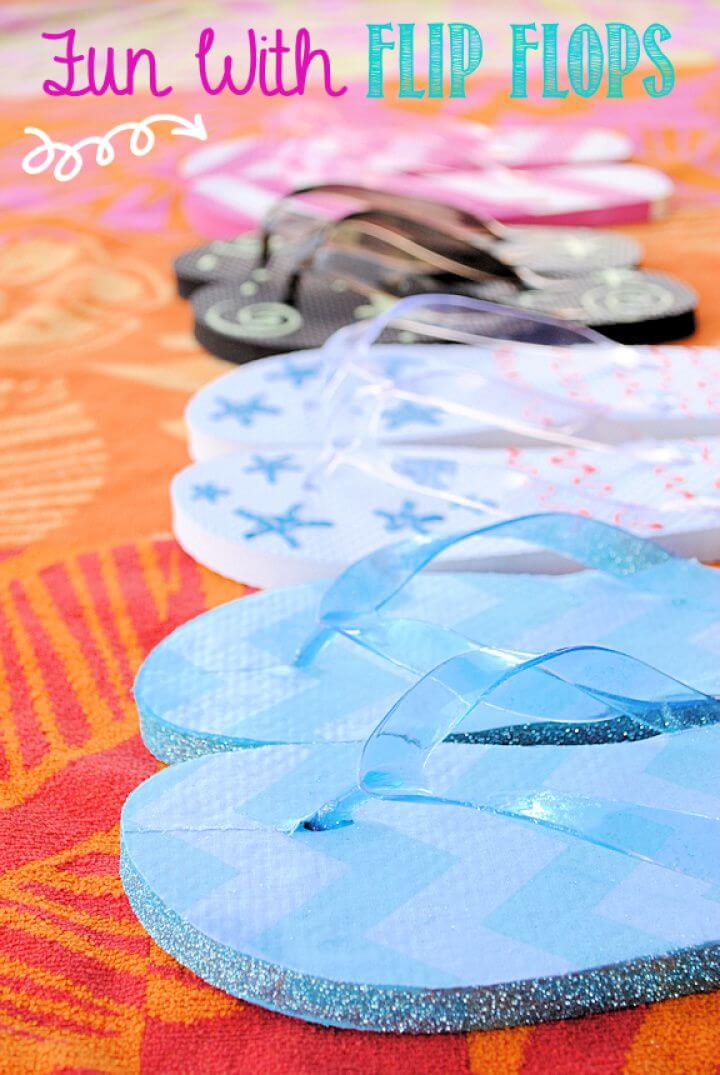 DIY Fun With Flip Flops By Crazy Little Projects