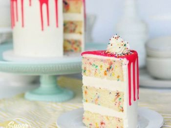 DIY Funfetti Cake From Scratch