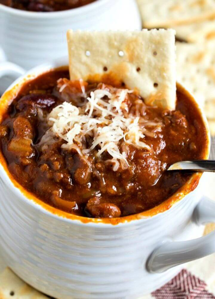 DIY Glenn's Sweet Spicy Slow Cooker Chili