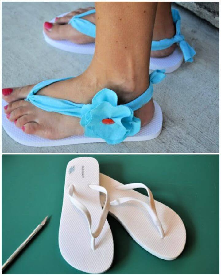 DIY Key West Flip Flops Rock The Flop Linky